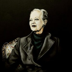 Dronning Margrethe 2_60x80_akryl-paa-laerred