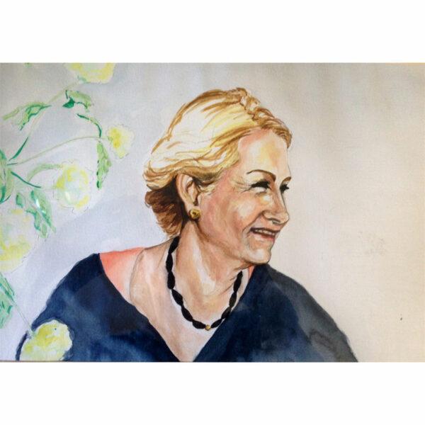 Portræt af Mette Norman Christiansen