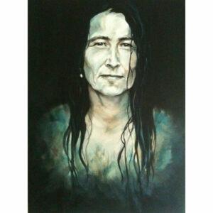 Portræt af forfatteren Trisse Gejl
